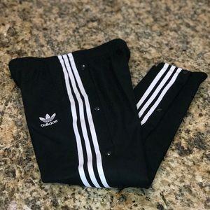 Adidas Originals Big Boys Snap Pants